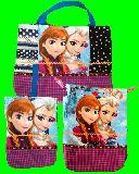 子供服 T★アナと雪の女王★ 上靴入れ・レッスンバッグ ・お着替え袋