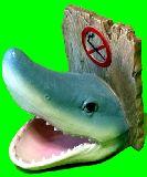 子供服 $99ARF 陶器の サメ! 鍵を置いたり・・