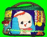 子供服 $99TF★お化粧ポーチ★バニティ コスメポーチ★昭和レトロ ワンコ