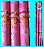 子供服 ◆A★芯の硬さ「HB」 ストロベリーショートケーキ 鉛筆4本セット