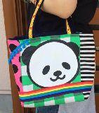 子供服 ◆99MARFT★500mlのペットボトルもスッポリ♪★保冷できるランチバッグ★パンダ