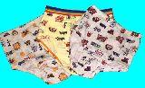 子供服 ●$A★125〜135�p  女の子用 下着 3枚セット