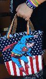 子供服 $99mTFA★500mlのペットボトルもスッポリ♪★保冷できるランチバッグ スーパーマン