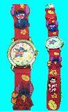 子供服 $88ARF★スティッチ 腕時計 子供から大人まで使えます