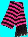 子供服 99ARF★ボーダーマフラー ★ピンク