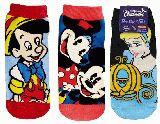 子供服 ▲A★ミッキー&ミニー・ピノキオ・シンデレラ★くつ下 22〜24cm