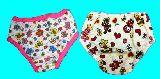 子供服 ●RFN88A$◎女の子用下着 お花柄&クマちゃん 105〜115�p 2種類セット