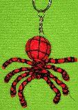 子供服 $★Aャ★リアルな 蜘蛛のキーホルダー