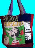 子供服 FT99M・ビッグサイズ パッチワーク ★ポパイのオリーブ★トートバッグ