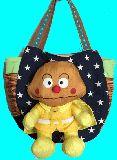 子供服 FT★まちたっぷり!!立体お人形付★カレーパンマン★マザ−ズバッグ