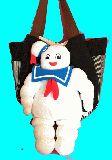 子供服 $T99M★まちたっぷり!!★ゴーストバスターズ★お人形★マザ−ズバッグ サイドポケット付き