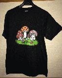 子供服 FR88 A ●きのこ親子★Tシャツ レディースLサイズ