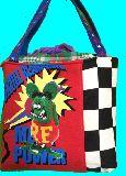 子供服 ◆AM99FT★500mlのペットボトルもスッポリ♪★保冷できるランチバッグ★★ラットフィンク