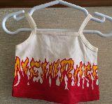 子供服 $RF ファイヤーパターン キャミ 70cm 赤ちゃん用