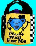 子供服 99mFTA★500mlのペットボトルもスッポリ♪★保冷できるランチバッグ★デッドベア★