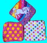 子供服 ※RF88 ★タオル素材ハンカチ ユニコーン・ドット 3種類セット