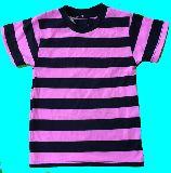 子供服 $A●★ボーダーTシャツ:ピンク★120cm
