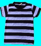 子供服 $A★ボーダーTシャツ:クロ★120cm