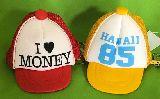 子供服 ◆A88RF★メッシュキャップ型 コインケース・アイラブ・ハワイ