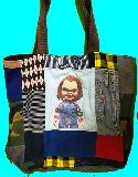子供服 MA99FT★・ビッグサイズ パッチワーク ★チャッキー・チャイルドプレイ ★トートバッグ