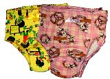 子供服 FR88NA★女の子用下着 レトロウサギ&黄色 ★★105〜115�p   2枚セット