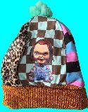 子供服 ●99AMT★大人用 ニットキャップ ★チャッキー