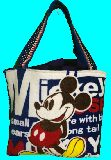 子供服 99MAT★500mlのペットボトルもスッポリ♪★保冷できるランチバッグ★ミッキーマウス