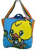 子供服 ◆◆◆88MATF★500mlのペットボトルもスッポリ♪★保冷できるランチバッグ★ヒヨコ
