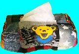 子供服 ◆◆◆AM88★★デッドベア★アメキャラ パッチワーク ティッシュボックス