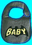 子供服 $※99AFR★パイル素材 ビブ :バットマン