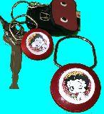 子供服 ◆♪ARF99★ショーリング キーホルダー★ベティブープー 赤