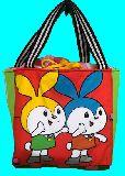 子供服 ◆◆◆AMFR88T★500mlのペットボトルもスッポリ♪★保冷できるランチバッグ★うさぎ