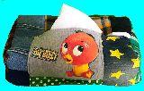 子供服 ★TM99A★★オレンジバード★ パッチワーク BOXティッシュケース  19-312