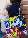子供服 ◆※A99mT★大容量 1.5リットルのペットボトルもスッポリ★保冷バッグ★ミッキーマウス