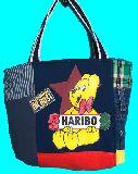 子供服 ◆A99MT★トートバッグ★マグネット付き パッチワーク・ハリボー グミ