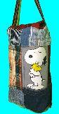 子供服 T99MA★吊る下げ式★スヌーピー★パッチワーク BOXティッシュケース 19723
