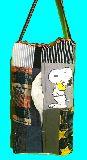子供服 TA99M★吊る下げ式★スヌーピー★パッチワーク BOXティッシュケース  19716
