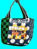 子供服 ◆★A99MT★トートバッグ★マグネット付き パッチワーク・シンプソンズ19-716