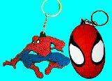 子供服 ▼A9RF★スパイダーマン★ラバーキーホルダー