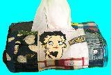 子供服 ♪99MTA★ベティちゃん★パッチワーク BOXティッシュケース