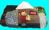 子供服 ♪99MAT★おさるのジョージ♪★ パッチワーク BOXティッシュケース 19723