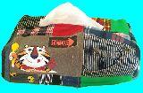 子供服 ♪A99MT★ケロッグ トニー★ パッチワーク BOXティッシュケース 197231