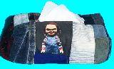 子供服 ※99AMT★チャッキー★パッチワーク BOXティッシュケース