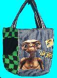 子供服 ◆A99MT★トートバッグ★マグネット付き パッチワーク・E・T 1988