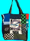 子供服 T99MA・ビッグサイズ パッチワーク ★ロードランナー★トートバッグ 1996