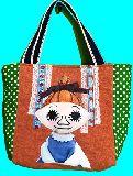 子供服 A99MT☆★トートバッグ★マグネット付き パッチワーク・ミムラ姉さん 191022