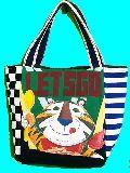 子供服 ◆A99mt★トートバッグ★マグネット付き パッチワーク・ケロッグ トニー 191022