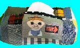 子供服 ◆99MAT★★ミムラ姉さん★ パッチワーク ティッシュボックス
