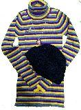 子供服 RF★ タートルネック ニットキャップ・ネックレス・イヤリングの4点セット