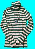 子供服 ARF99★ タートルネック  ネックレス イヤリングの3点セット